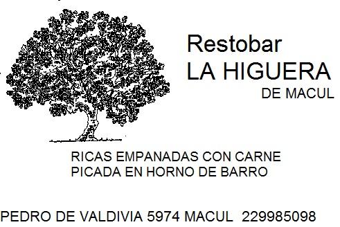 LA HIGUERA Bar Restaurante Macul