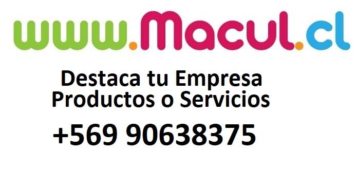PUBLICA RUBROS Y SERVICIOS EN LA COMUNA DE MACUL