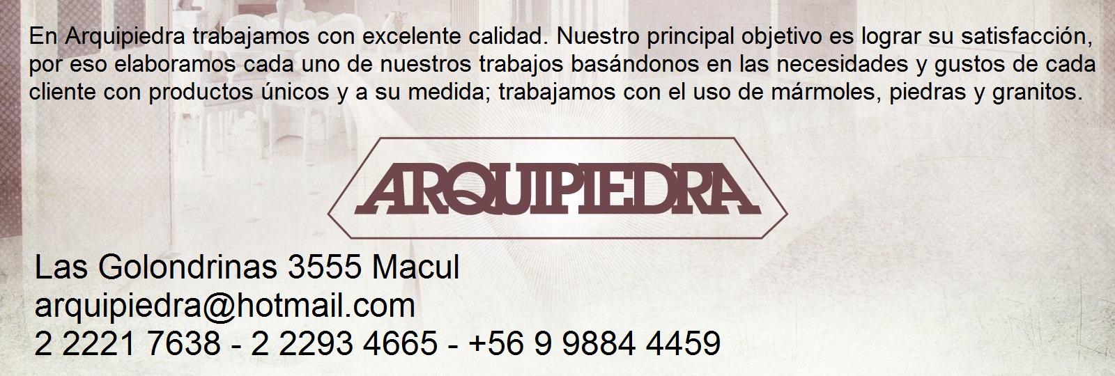 ARQUIPIEDRA MARMOL GRANITO ARTESANIA EN PIEDRA Macul
