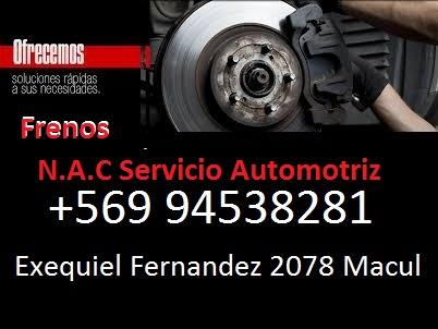 N.A,C Servicio Automotriz Frenos Macul