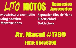 LITO MOTOS MECANICA Macul