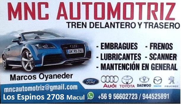 MNC AUTOMOTRIZ DE ALTA Gama Macul