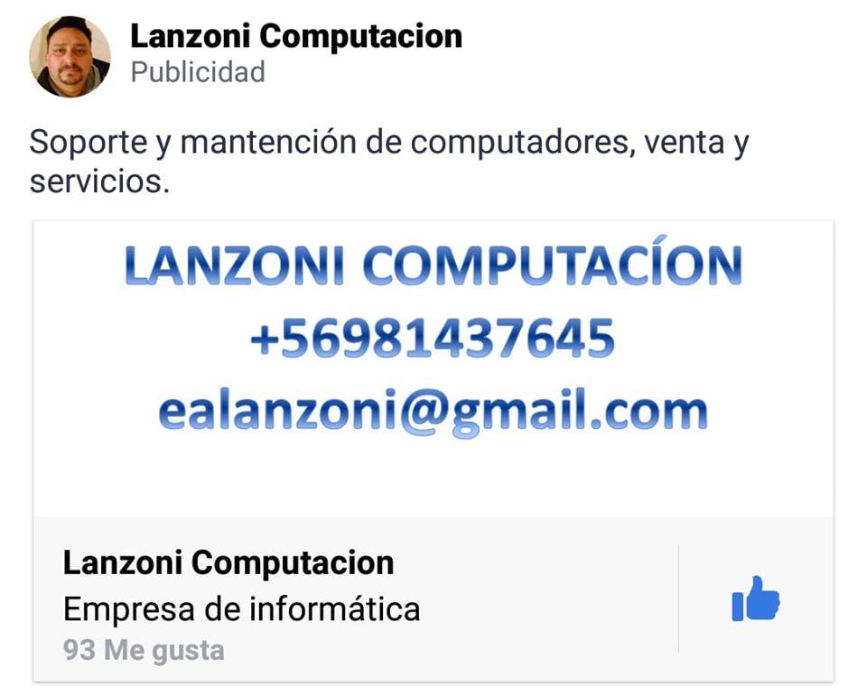LANZONI COMPUTACION Macul