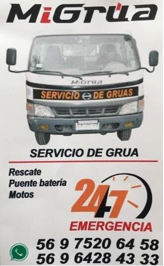 MI GRUA SERVICIO 24 HORAS Providencia Macul