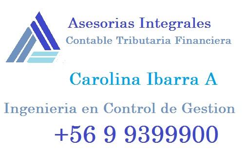 CAROLINA IBARRA  CONTABILIDAD
