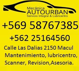 MECANICA AUTOURBAN Taller Mecanico y Automotriz Macul
