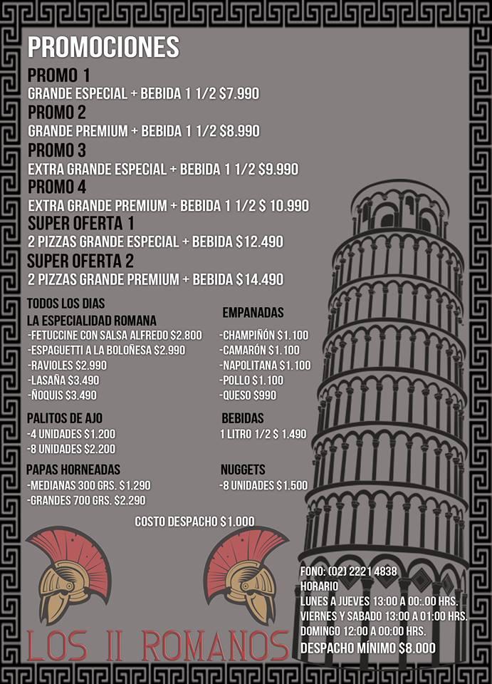 LOS II ROMANOS Pizza Macul