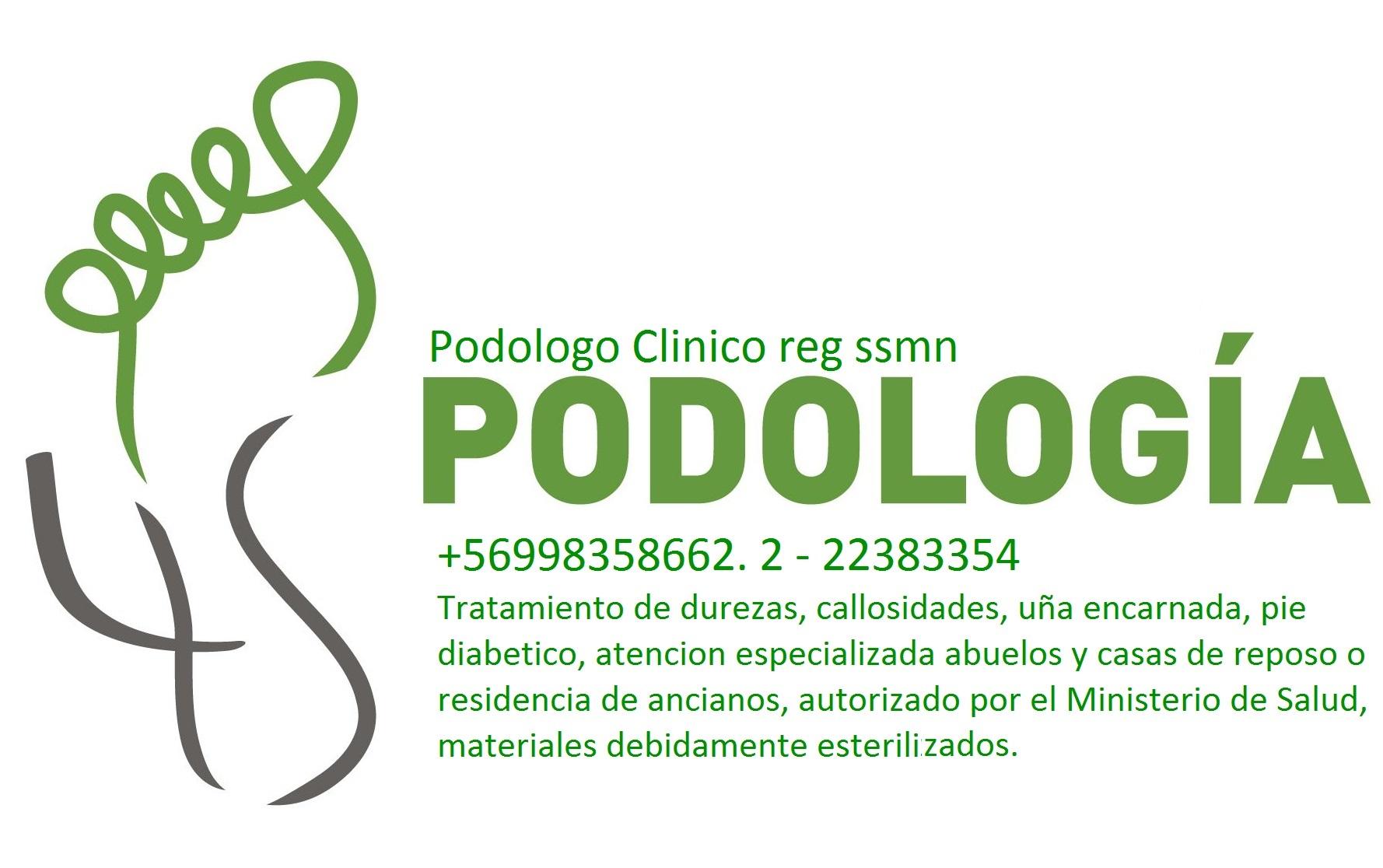 PODOLOGIA CLINICA +569 98358662 Ñuñoa Macul La Reina Peñalolen
