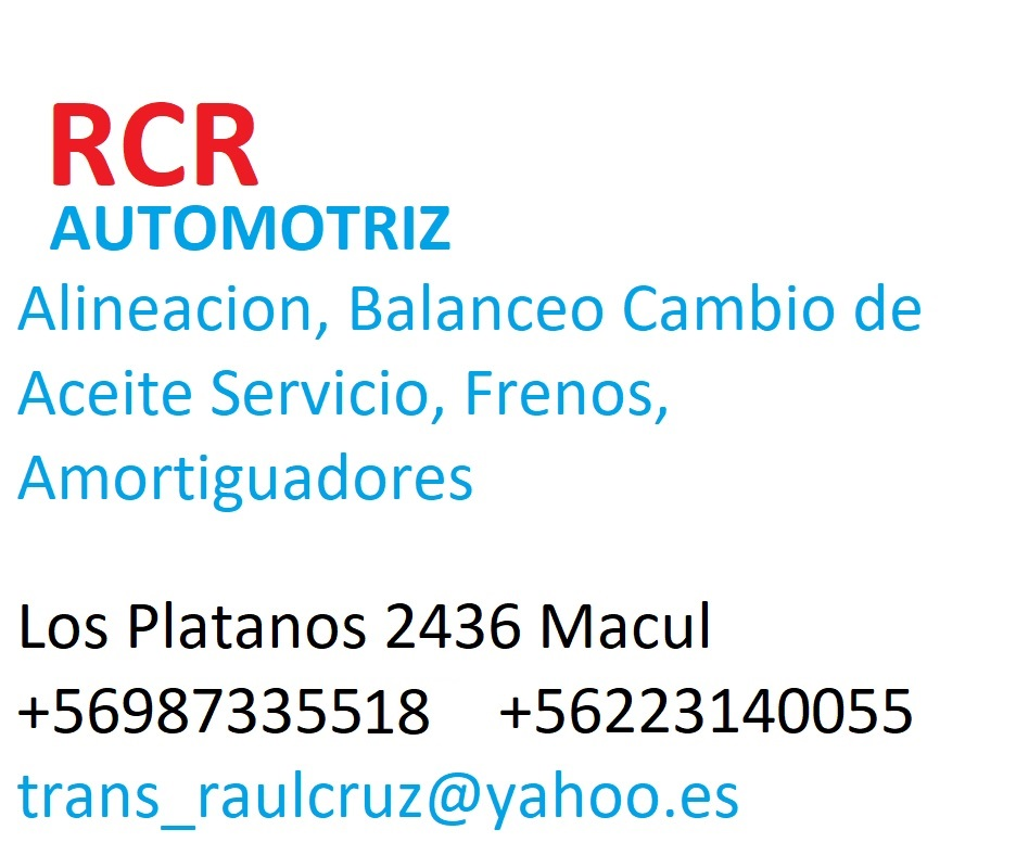 KRT SERVICIO AUTOMOTRIZ PINTURA Y DESABOLLADURA Macul