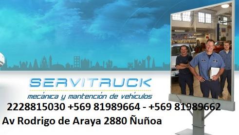 SERVITRUCK SERVICIO ALINEACION Y BALANCEO Ñuñoa Macul