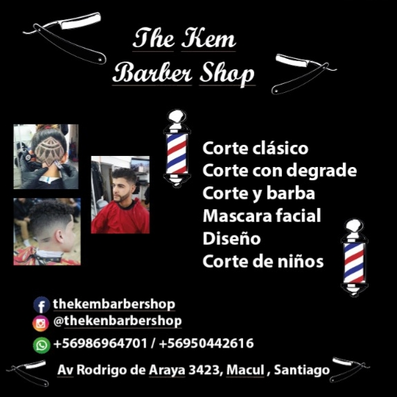 THE KEM BARBER SHOP Barberia Macul