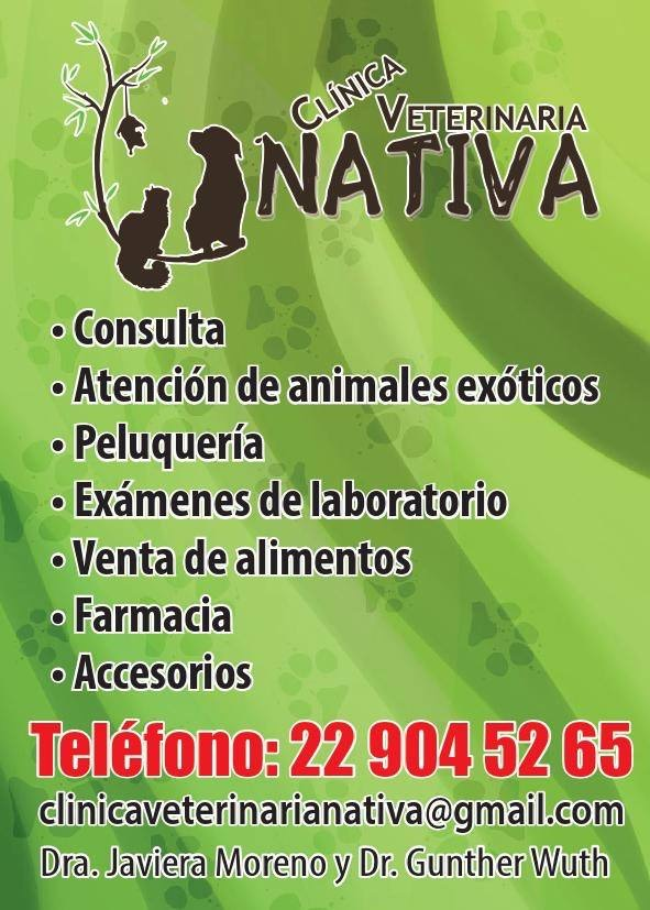 CLINICA VETERINARIA NATIVA ANIMALES EXOTICOS Macul
