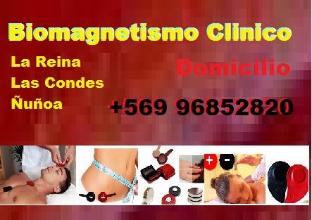 BIOMAGNETISMO CLINICO DOMICILIO LA REINA LAS CONDES ÑUÑOA