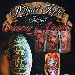 CALAVERAS Y DIABLITOS Tatuajes Macul