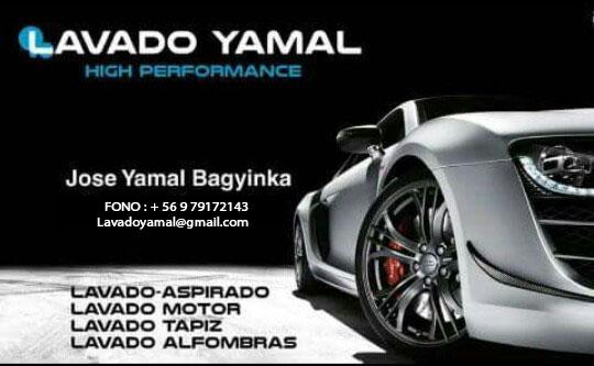 LAVADO YAMAL lavado de autos Macul