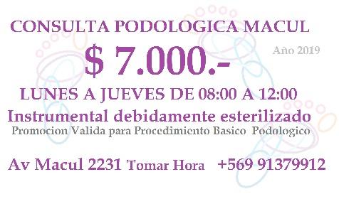 CENTRO PODOLOGIA CLINICA Macul