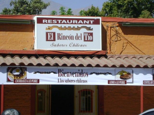 EL RINCON DEL TIO RESTAURANT Macul