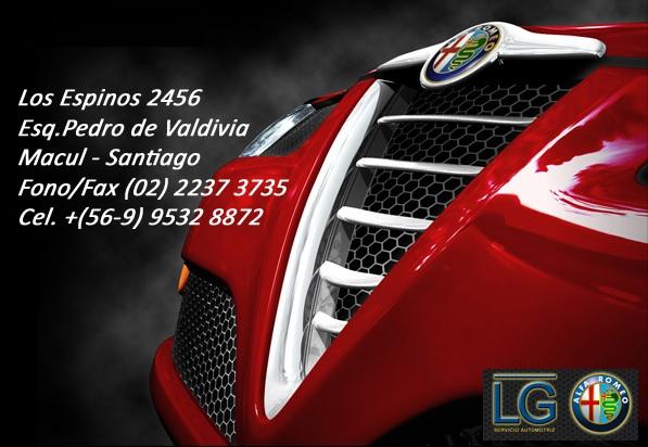 LG SERVICIO AUTOMOTRIZ ALFA ROMEO Macul