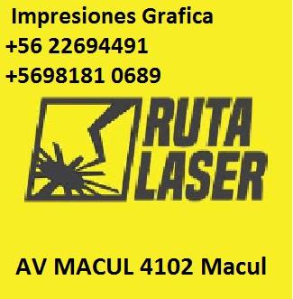 RUTA LASER IMPRESIONES PUBLICIDAD Macul