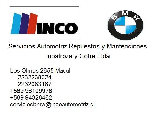 INCO AUTOMOTRIZ BMW Servicio automotriz Repuesto Macul
