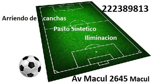 CRISTO SALVA ARRIENDO DE CANCHAS Futbol Macul